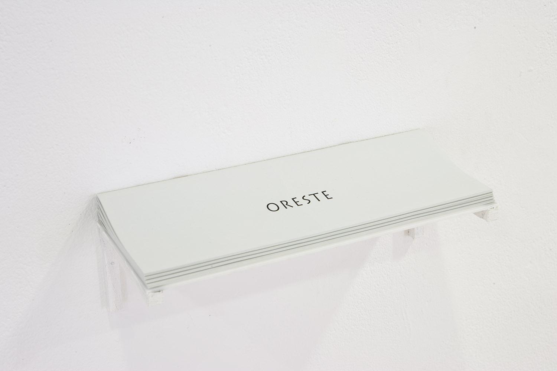 <em>Oreste</em>, 2015 <br>tiré à 20 exemplaires