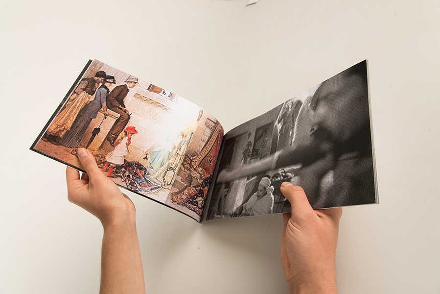 <em>Girls in the Casbah</em>, 2015 <br>31 x 19 cm <br>édition tirée à 8 exemplaires