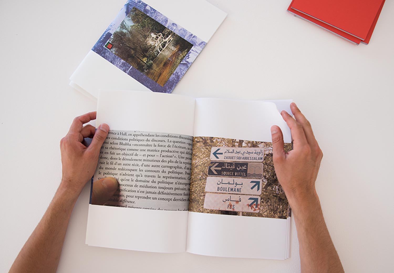 <em>Ifran</em>, 2015 <br>édition tirée à 12 exemplaires <br>21 x 29,7 cm