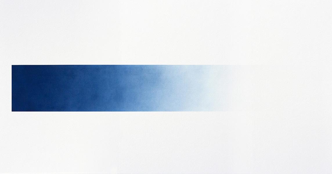 <em>Monolithe #2</em>, 2013-14, <br>pastel sec sur papier, <br> 135 x 250 cm