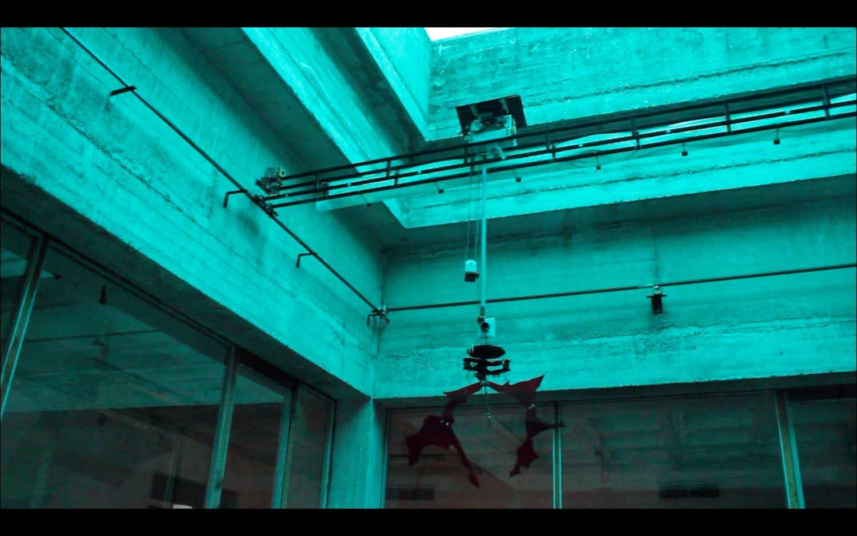 <em>Ufocatcher</em>, 2015 <br>installation <br>dimensions variables