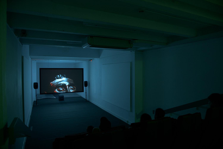 <em>Mazalgrotte</em>, 2015 <br>projection vidéo