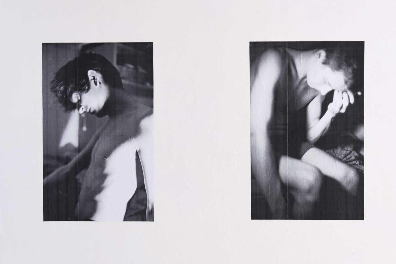 <em>Les Garçons-images</em>, 2015 <br>vue d'accrochage