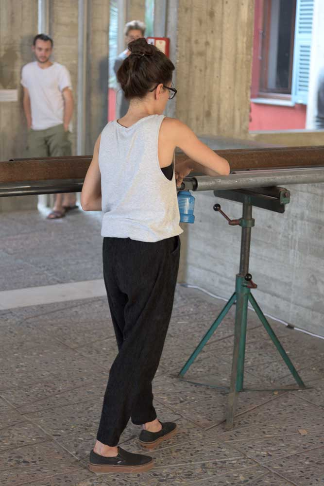 Orgue, 2015 <br> en collaboration avec Clarice Calvo-Pinsolle <br>performance sonore