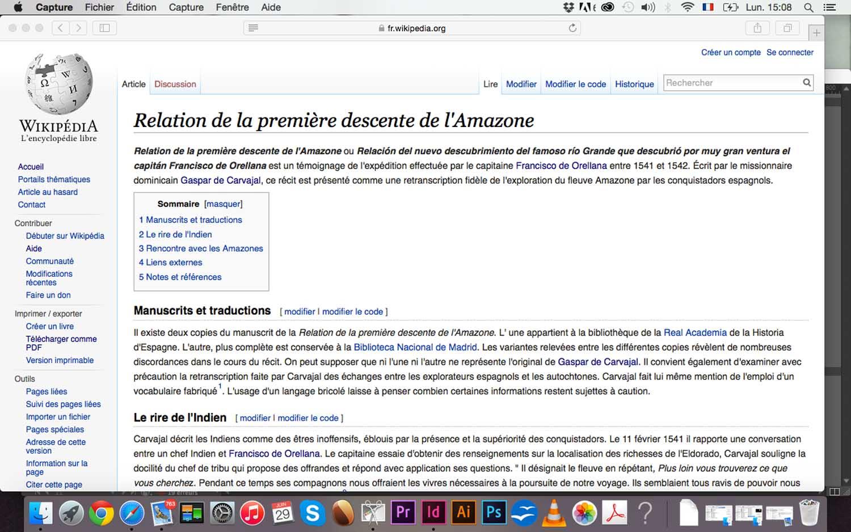 <em>Amazone</em>, 2015 <br>en collaboration avec Iommy Sanchez <br>article wikipédia